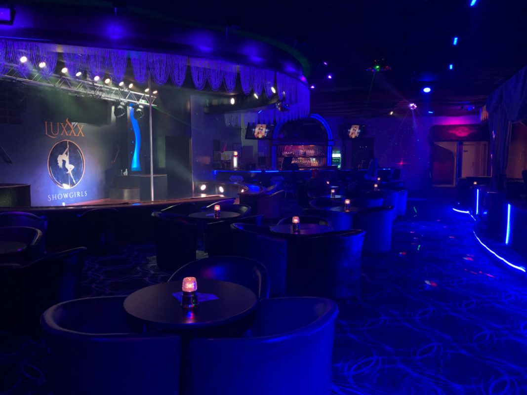 Luxxx Showgirls of Peoria Seating Area